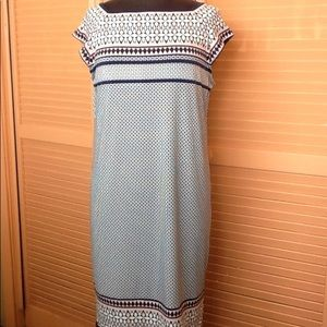 Max Studio Dress with cap sleeves Size M